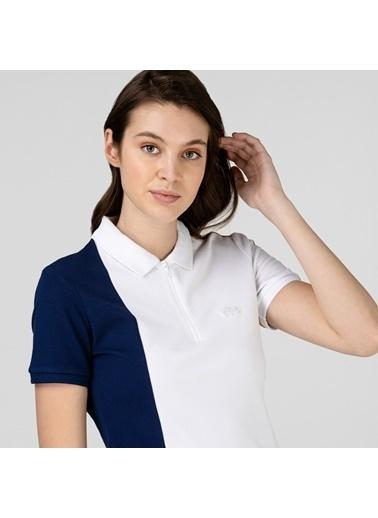 Lacoste Kadın Fermuarlı Tişört PF0104.04L Renkli